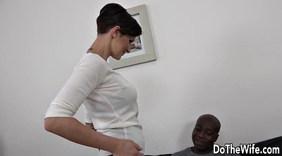 Swingers, Ebony creampie, Interracial cuckold, Anal wife