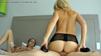 Daughter, Hot mom, German mature, Mature mom, Mom and daughter, Threesome mom