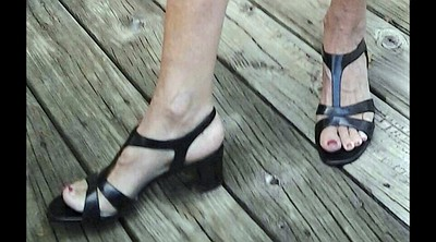 Shoe, Shoes, Mature foot, Mature feet, Mature compilation, Feet compilation