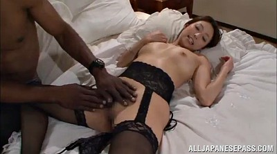 Licking, Asian interracial, Asian lingerie
