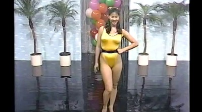 Retro, Swimsuit, Tv show, Japanese bikini, Asian vintage