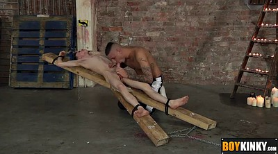 Nipple sucking, Waxing, Dripping, Sucking nipples, Gay bondage
