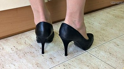 Spy, Kitchen, Spy cam, Wife foot, Spying, Fetish heels