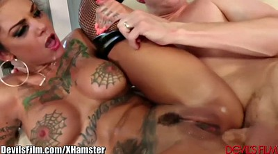 Squirt, Anal squirt, Tattoo anal
