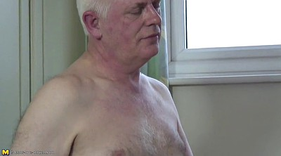 Amateur mature, Father, Old granny