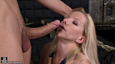 Blonde anal, Throat, Deep anal