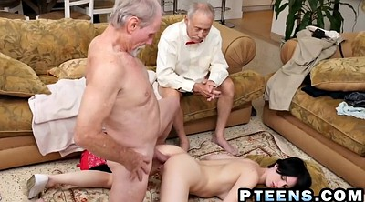 Old guy, Hard fuck