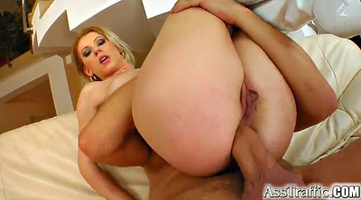 Finger, Anal fuck, Big tits anal, Anal finger