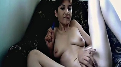 Mom masturbating, Brunette milf