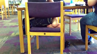 Feet, Candid, Library, Indian feet