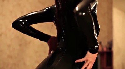 Latex, High, Boot