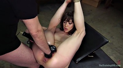 Anal toy , Tied up