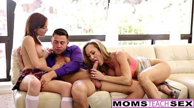 Caught, Creampie eating, Creampie eat, Caught daughter, Brandi love