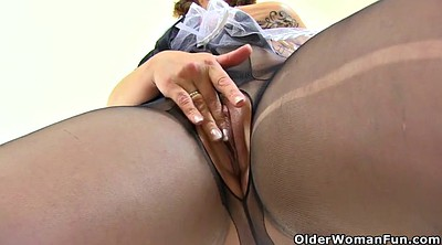 Maid, British mature, Queen, Lace
