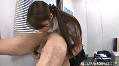 Skirt, Skirts, Office handjob