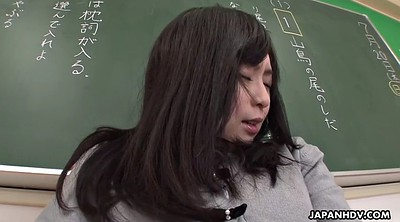 Japanese teacher, Japanese pantyhose, Masturbation hairy