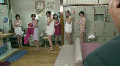 Japanese old, Japanese granny, Grannies, Sauna, Spa, Asian granny