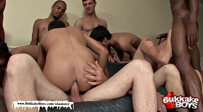 Twink gay, Interracial orgy