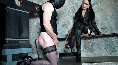 Boots, Spank, Leather, Boot, Lady spanked