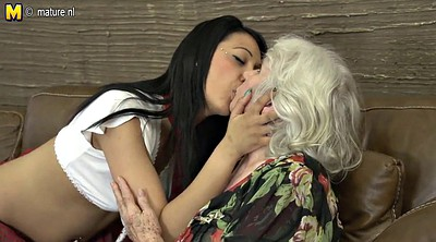 Old mature, Lesbians hairy, Granny hairy