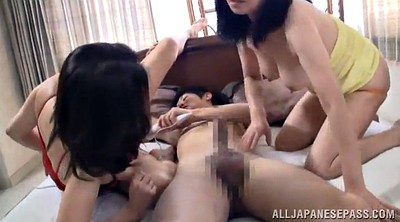 Mature big tits, Threesome mature, Stud, Asian busty