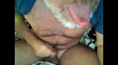 Ejaculation, Beard, Mature gay, Legs