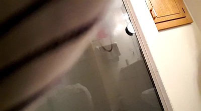 Voyeur wife, Wife shower, Out