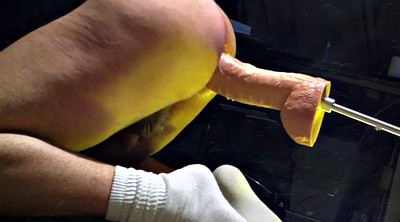 Huge dildo, Huge, Hanging