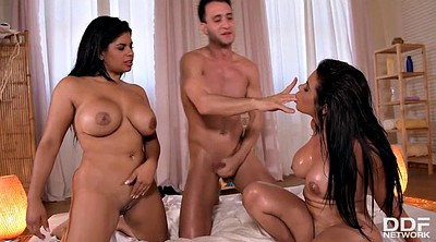 Twins, Twin, Latinas, Fuck sister, Sister big tits, Ebony sister
