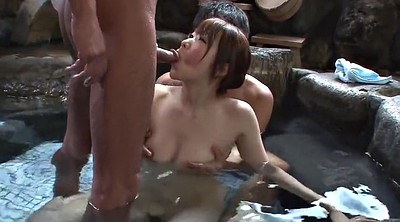 Japanese threesome, Bath, Japanese uncensored, Japanese bath, Asian uncensored