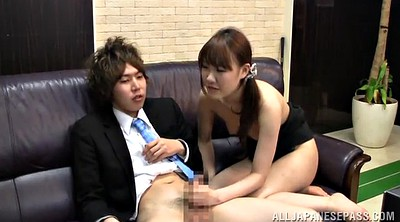Panty, Japanese office, Japanese handjob, Japanese girl, Asian office, Japanese licking