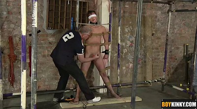 Master, Spanking gay, Blindfolded