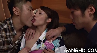 Asian gangbang, Japanese gangbang, Japanese riding, Japanese group sex