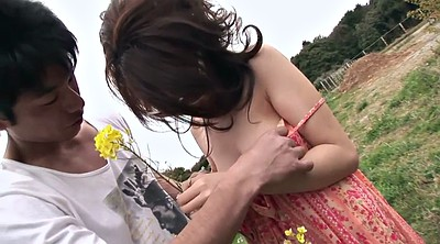 Japanese, Hairy teen, Japanese outdoor