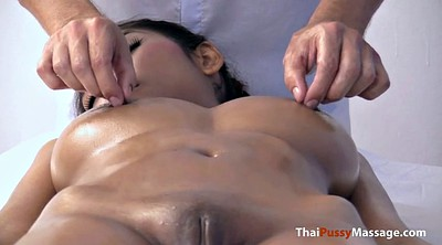 Natural, Natural boobs, Thai massage, Big natural