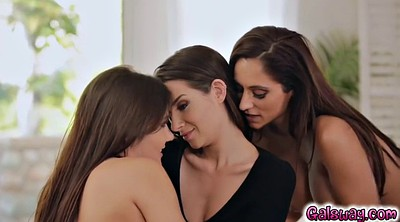 Lesbian threesome, Riding