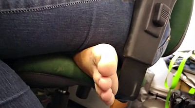 Sole, Candid, Office foot, Toes