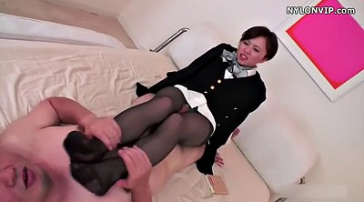 Footjob, Japanese pantyhose, Japanese black, Nylon footjob, Pantyhose fetish, Japanese footjob