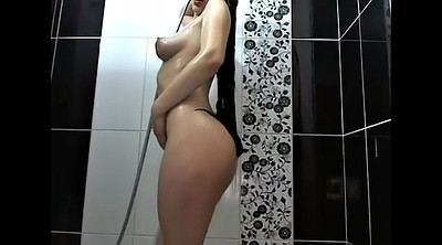 Solo milf, Bath, Take a shower