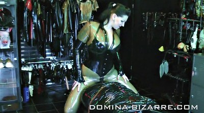 German latex, Diana, Latex bondage, Latex bdsm