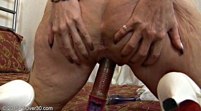 Sex old, Granny dildo masturbation