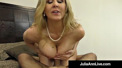 Julia ann, Milf feet