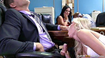 Nikki benz, Husband, Big black cock, Office sex, Nikki benzs