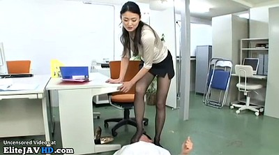 Massage, Japanese massage, Japanese mature, Japanese pantyhose, Secretary, Asian mature