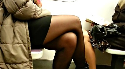 Nylon, Pantyhose face, Mature pantyhose