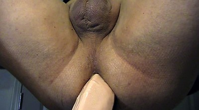 Fist, Gay fist, Close up, Fisted, John, Giant dildo