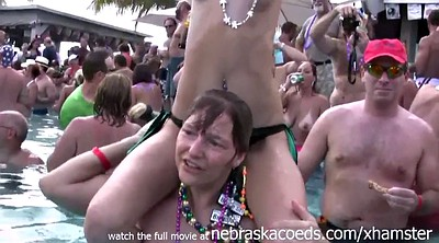 Young milf, Pool sex, Pool party, Group