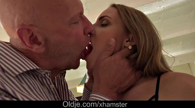 Daddy old, Lick pussy, Cock, Granny blowjob