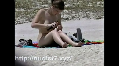 Nudist, Beach hidden, Hidden teen, Beach voyeur