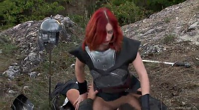 Redhead, Outdoor anal, Open orgasm, Anal opening
